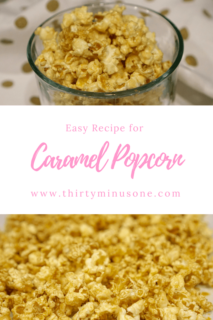 Celebrate National Caramel Popcorn day with this quick and easy recipe.