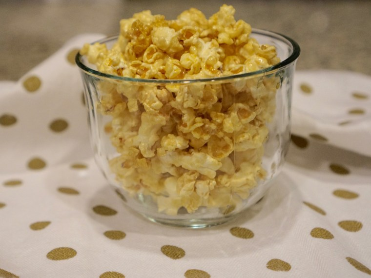 Celebrate National Caramel Popcorn Day