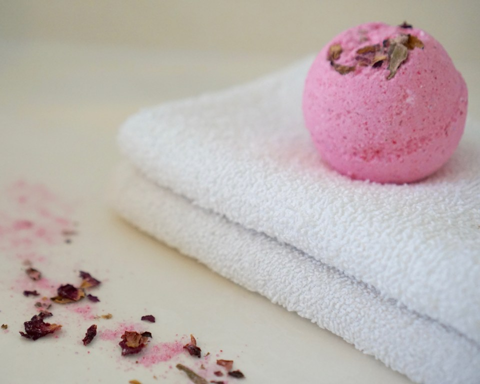 bath bombs make a bath feel like a spa experience, these are handmade in Texas by The Mint Moon.
