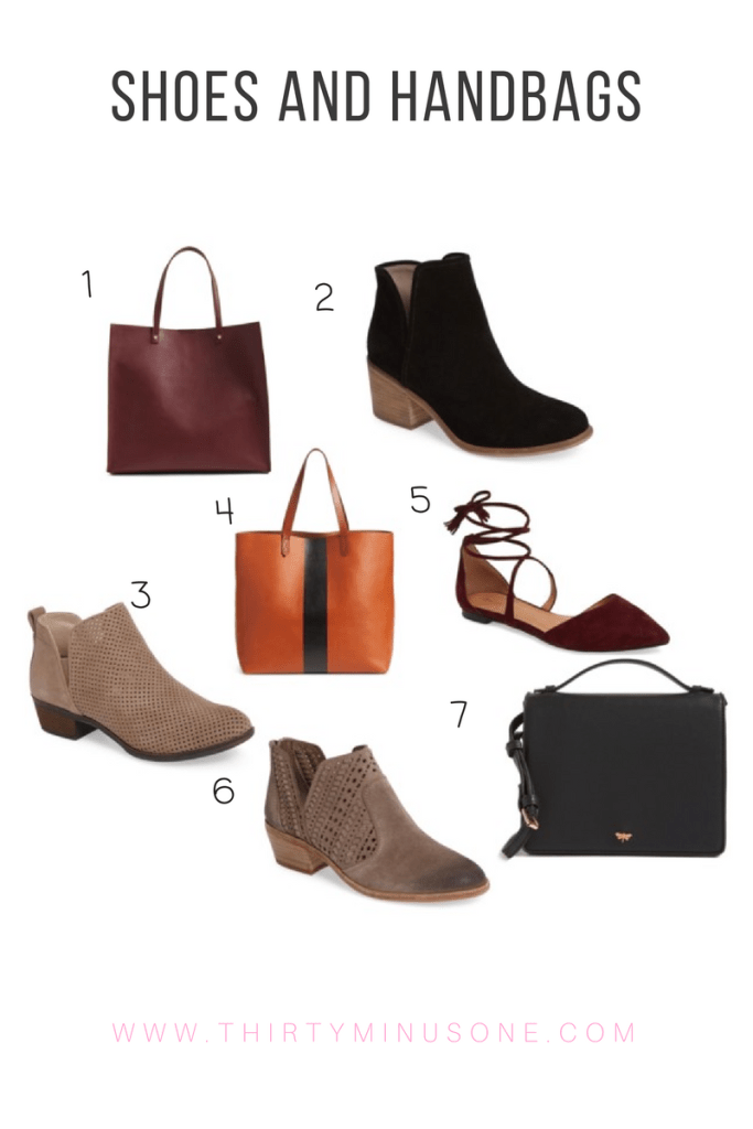 Nordstrom's Anniversary Sale Shoes and Handbags