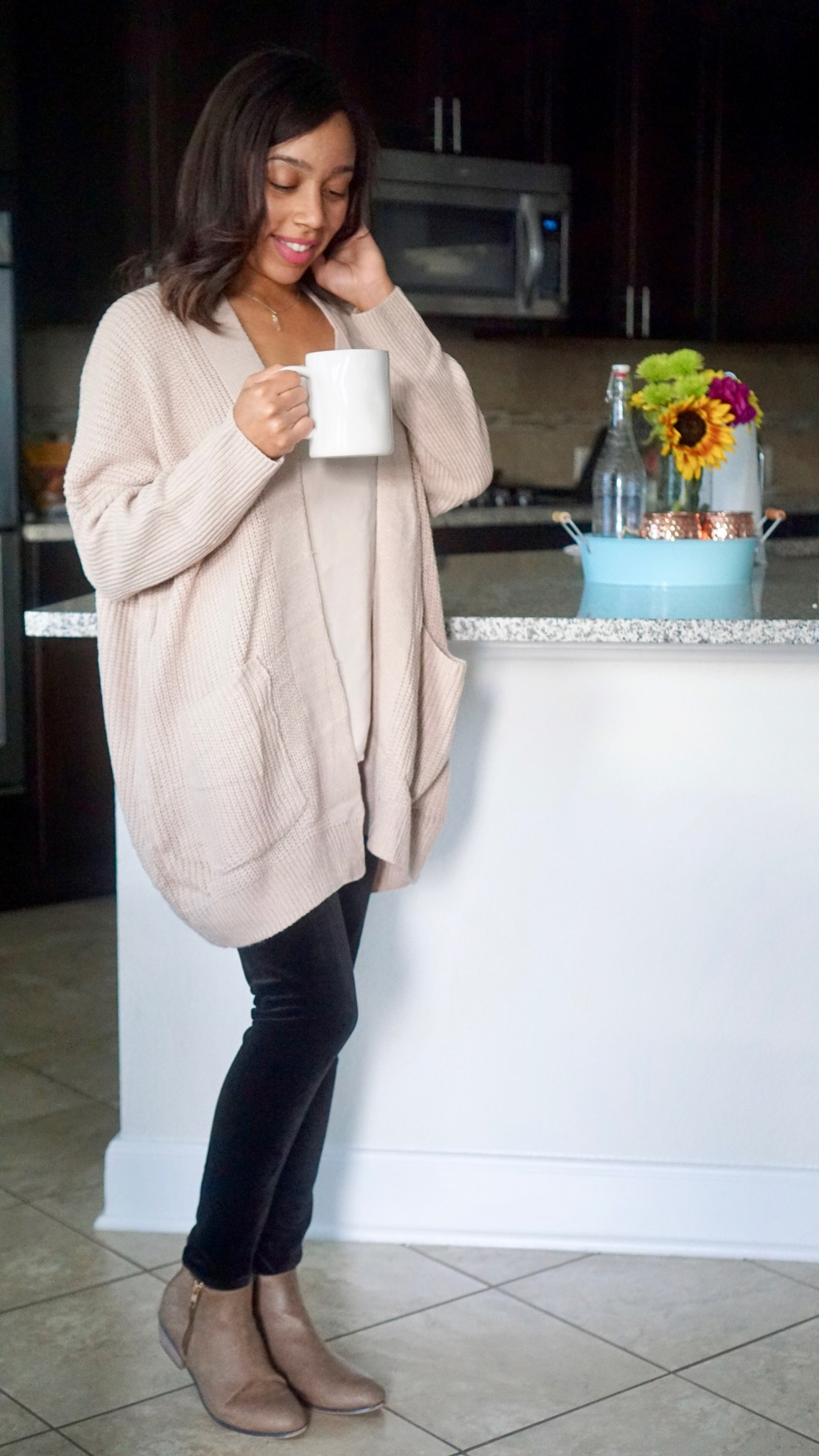 welcoming fall in layers