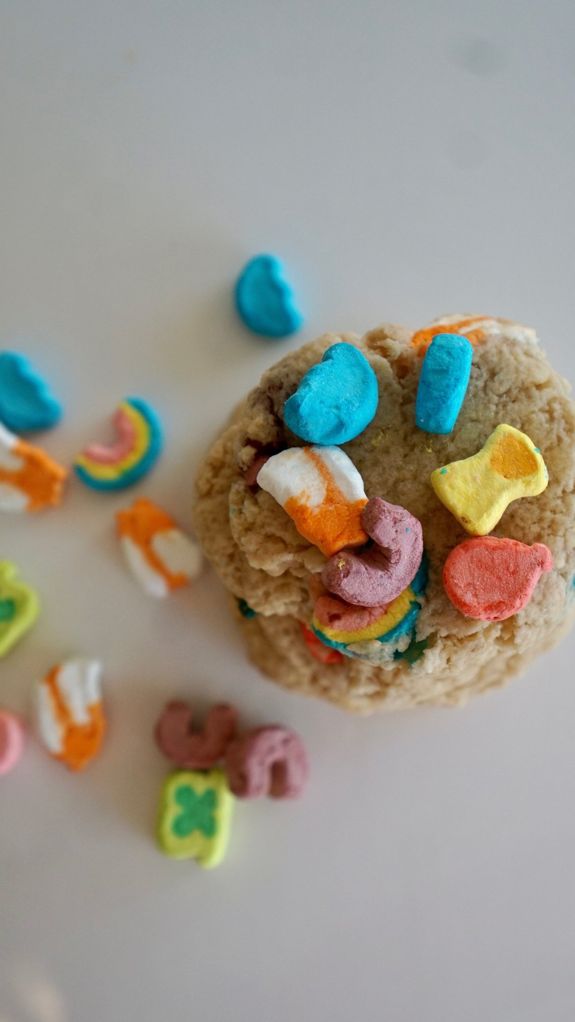 Easy to Make Lucky Charm Cookies