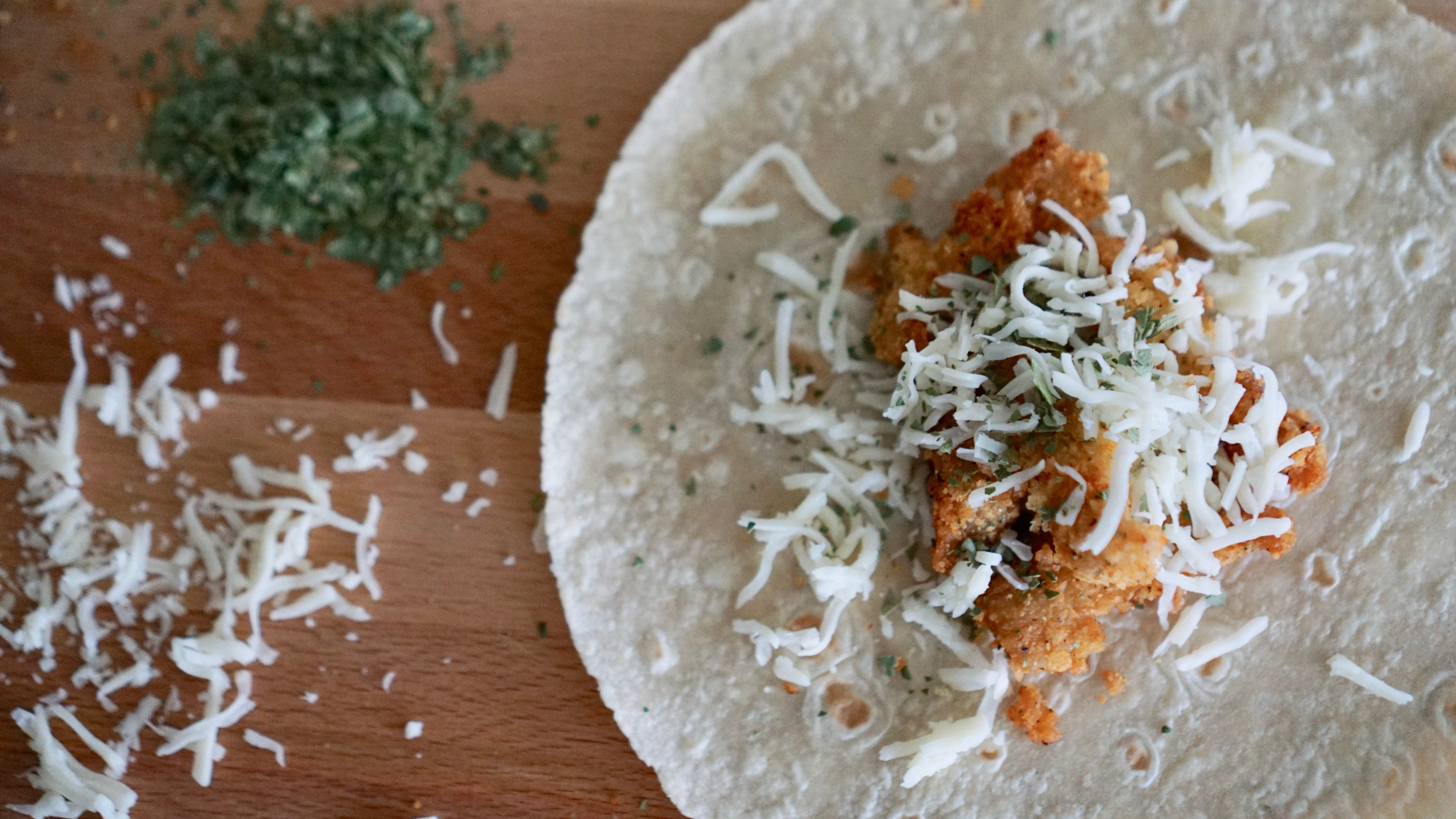 The Easy Way to Make Chicken Wraps