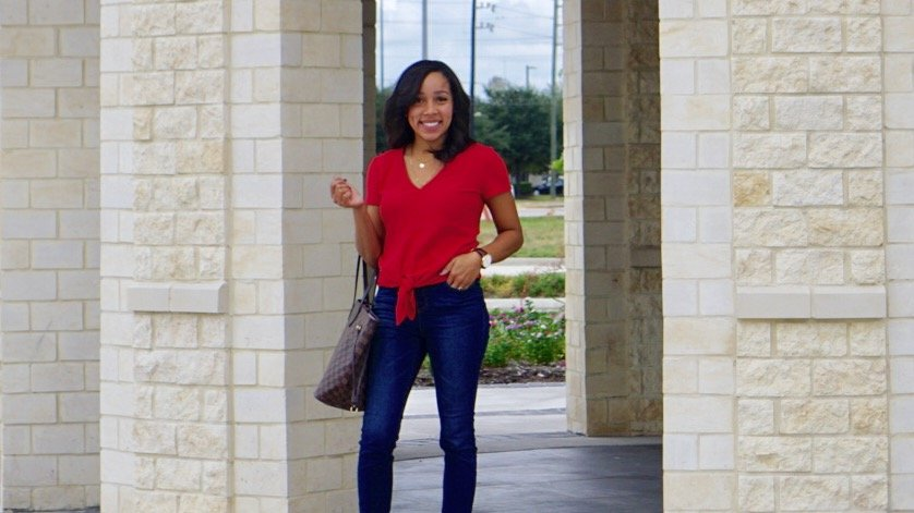 Trendy Thursday LinkUp + Fall(ing) in Love with Pops of Red