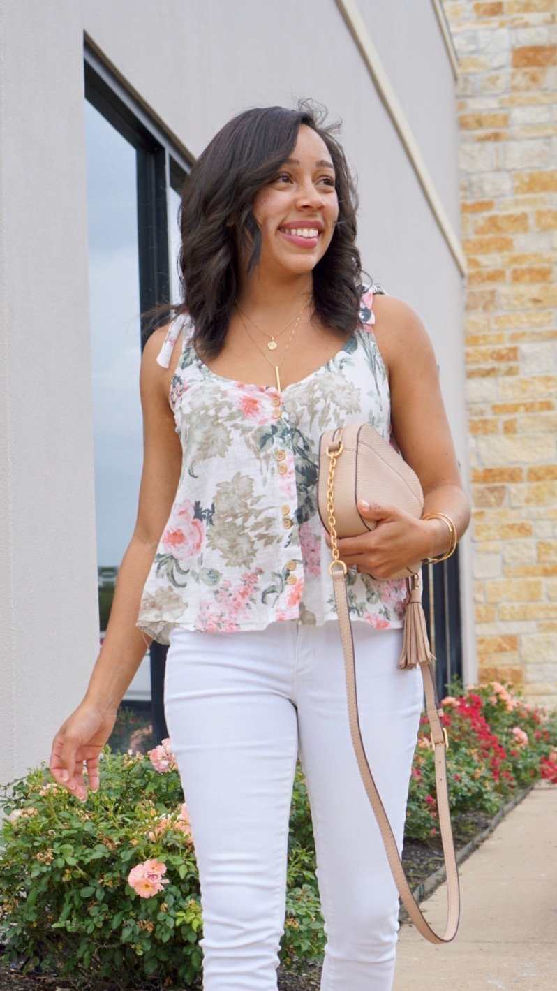 Trendy Thursday LinkUp + Delicate Spring Floral Prints