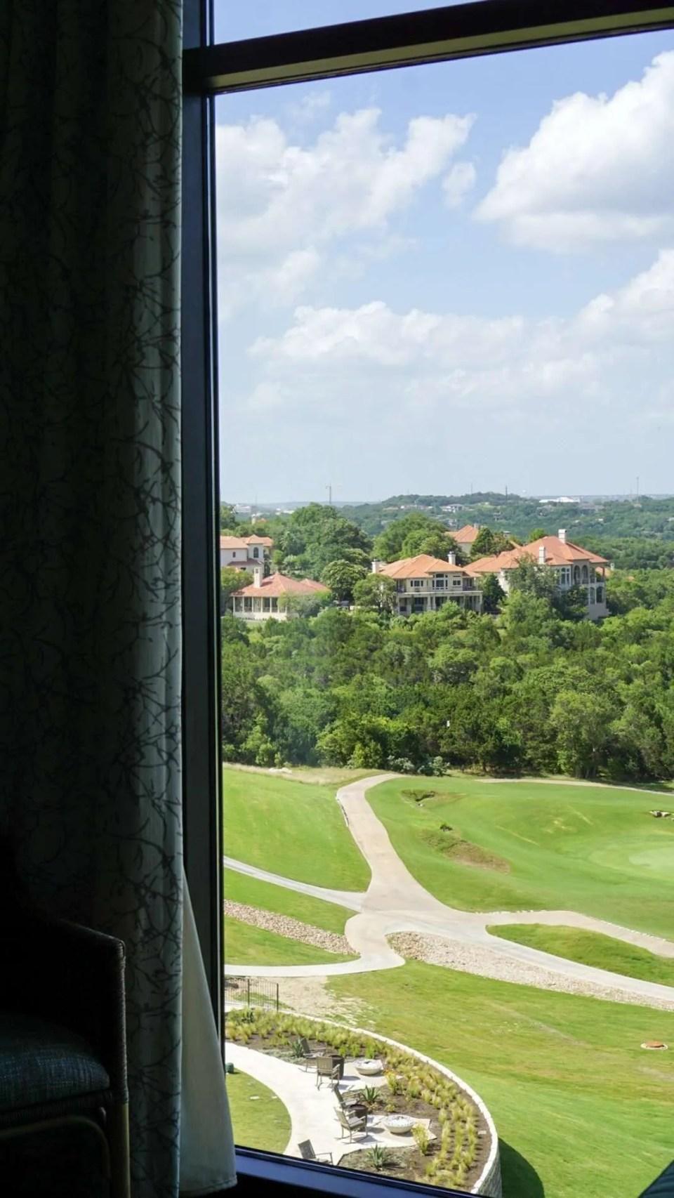 golf course at the Omni Barton Creek Resort & Spa in Austin