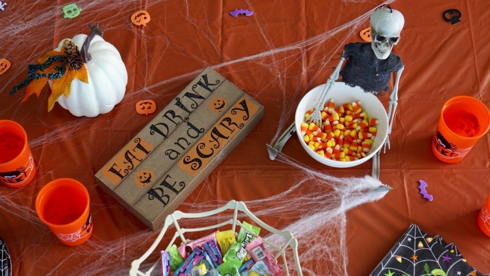 Halloween Party Inspiration with Dollar General Goodies