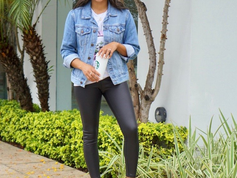 Trendy Thursday LinkUp + A Casual Way to Wear Leather Leggings