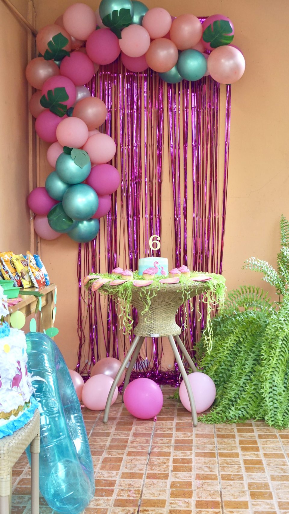 Flamingo Pool Party Birthday Theme for Girls