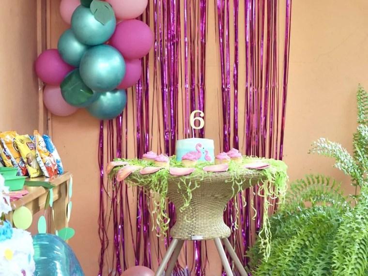 Flamingo Pool Party Birthday Theme for Girls