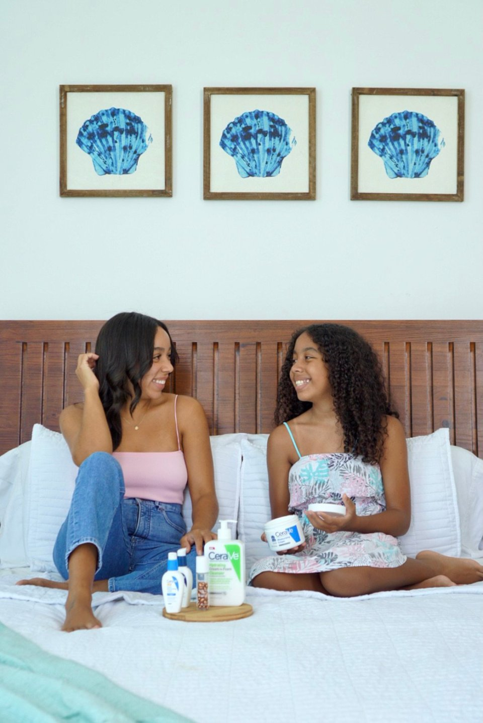 Beauty: My Daughter and My Skincare Favorites