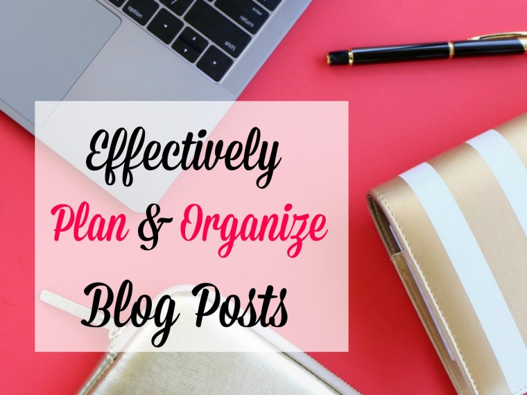 Blogging takes a lot of organization, it all starts with a perfectly organized blog post. Find out how you can effectively plan and organize your blog posts.