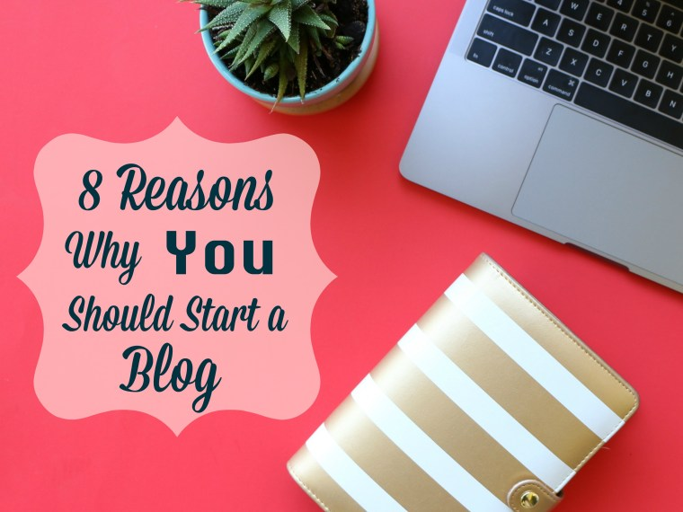 Blog for fun and profit. Eight reasons why you should start a blog.