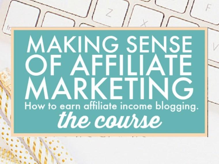 Making Sense of Affiliate Marketing