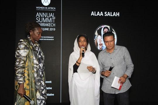 Hafsat Abiola and Alaa Salah (c) Remi Schapman | WIA