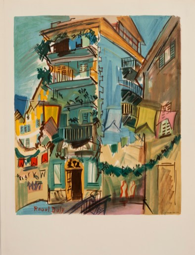 Raoul Dufy (c) Mourlot Editions