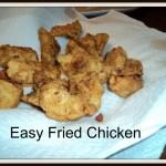 Supermom's Fried Chicken Nuggets