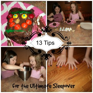 13 Tips for the Ultimate Sleep Over