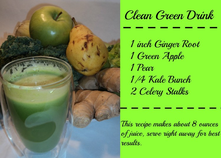 Clean Green Drink