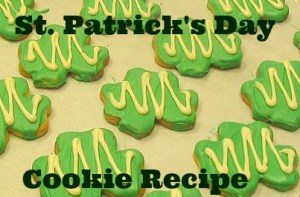 St. Patrick's Day Cookie Recipe
