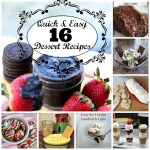 16 Quick & Easy Dessert Recipes
