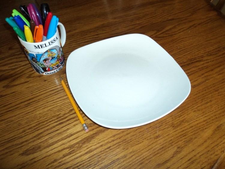 DIY Plate Design Craft