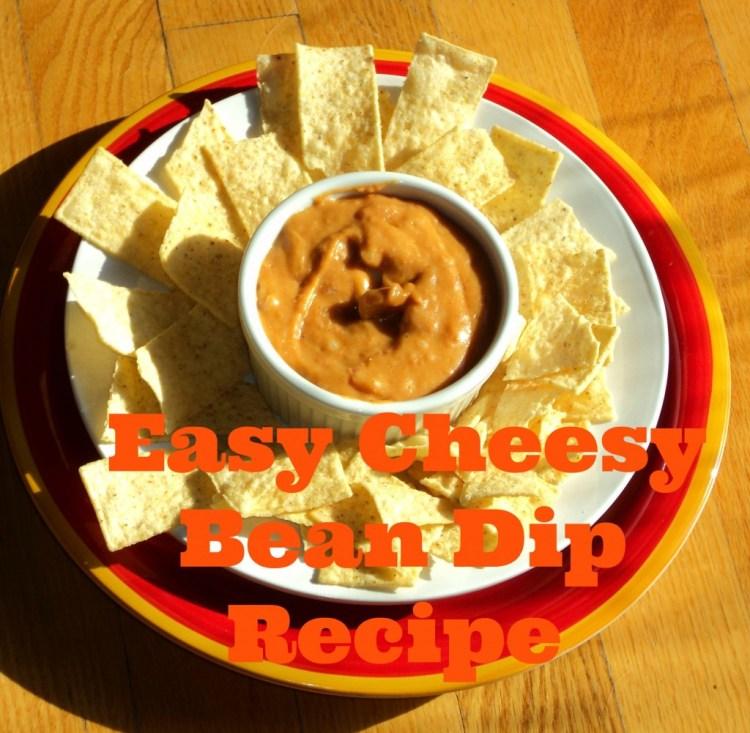 Easy Cheesy Bean Dip Recipe