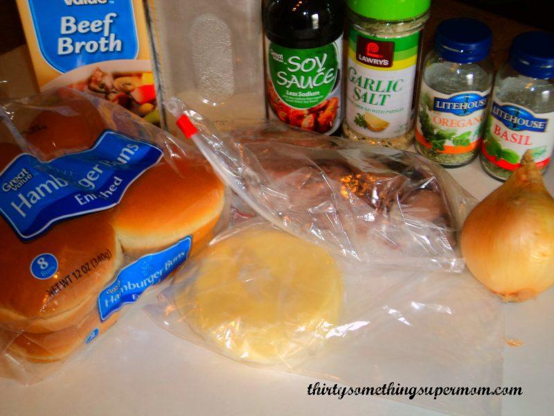 Easy Italian Beef Sandwiches