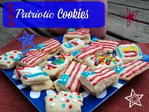 Easy Patriotic Cookie Recipe