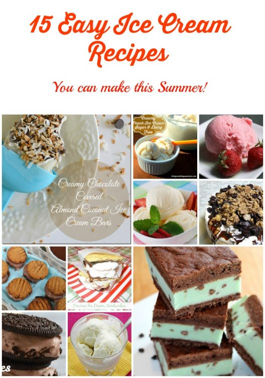 15 Easy Ice Cream Recipe