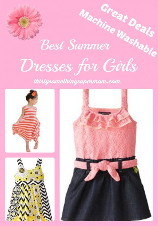Great Summer Dress Options for Girls, great deals and machine washable!