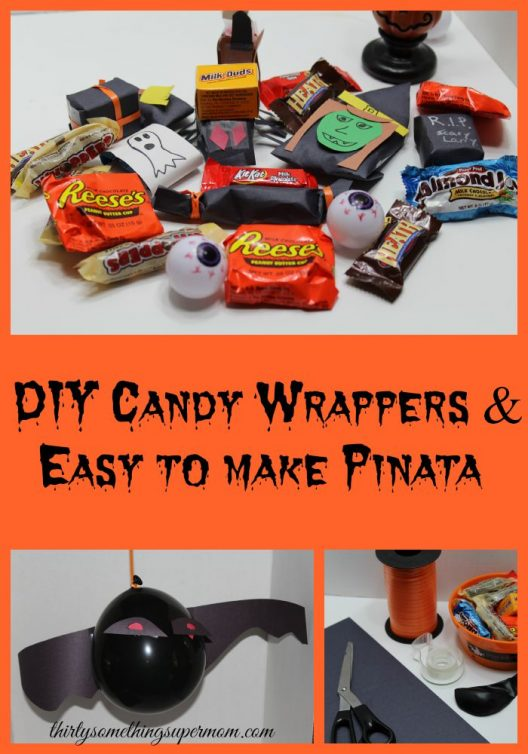 DIY Candy Wrappers & Pinata