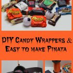 DIY Pinata & Candy Wrappers