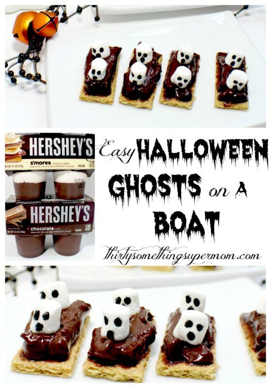 Halloween Ghosts on a Boat