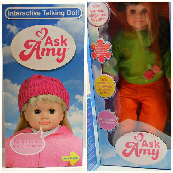 Ask Amy Interactive Doll