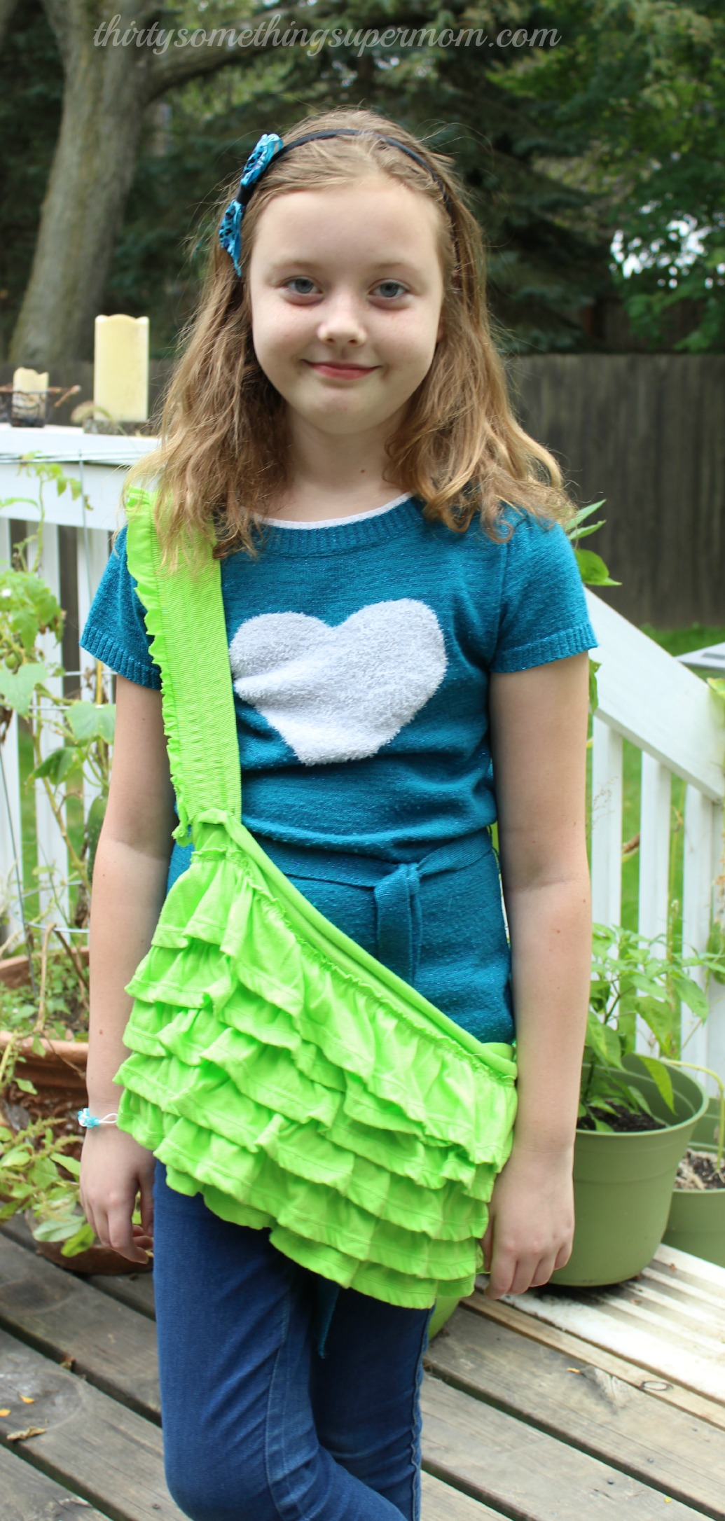 DIY Upcycle Skirt Purse Project