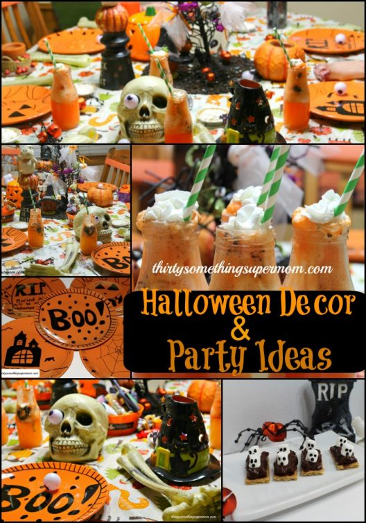 Halloween Decor & Party Ideas Pin