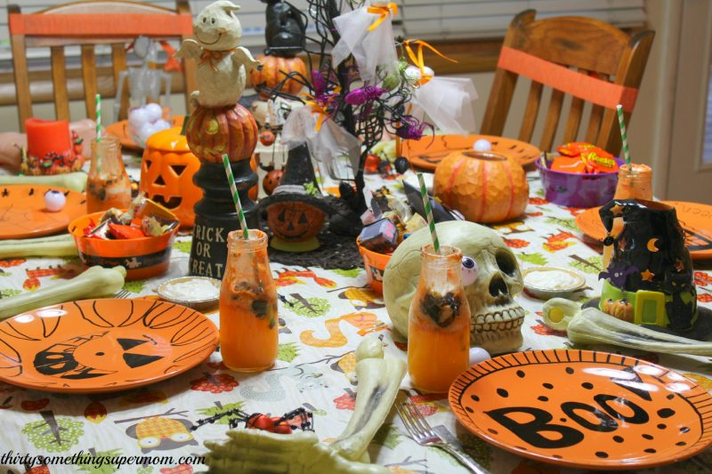 Halloween Spooky Table