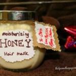 DIY Honey Hair Mask Gift
