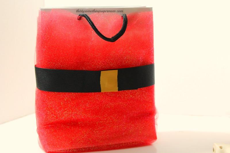 DIY Gift Santa Bag