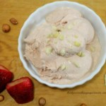 Guilt Free Desserts Cacao Strawberry Peanut Butter Ice Cream