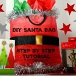 DIY Santa Gift Bag Tutorial