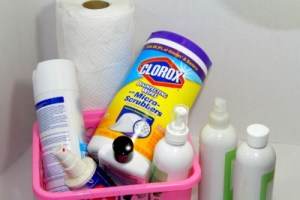 How to Clean Your House with Less Supplies