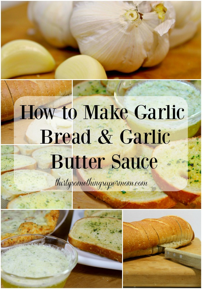 Garlic Bread and Garlic Butter Sauce Recipe