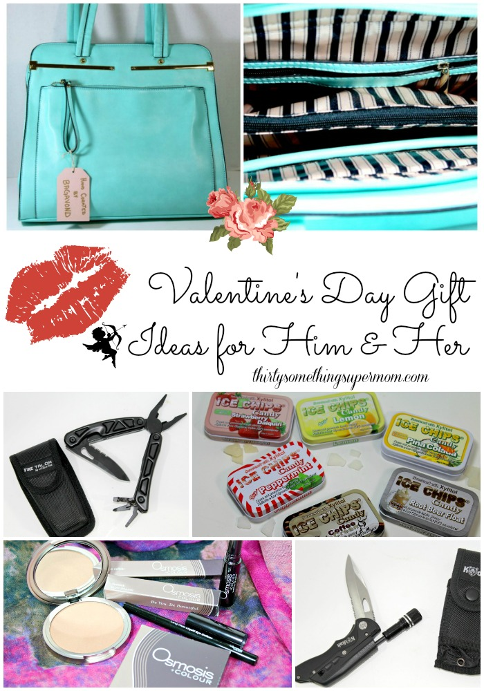Skip the typical flowers and candy this year and pick up a memorable gift with these Valentine's day gift ideas for him and her.