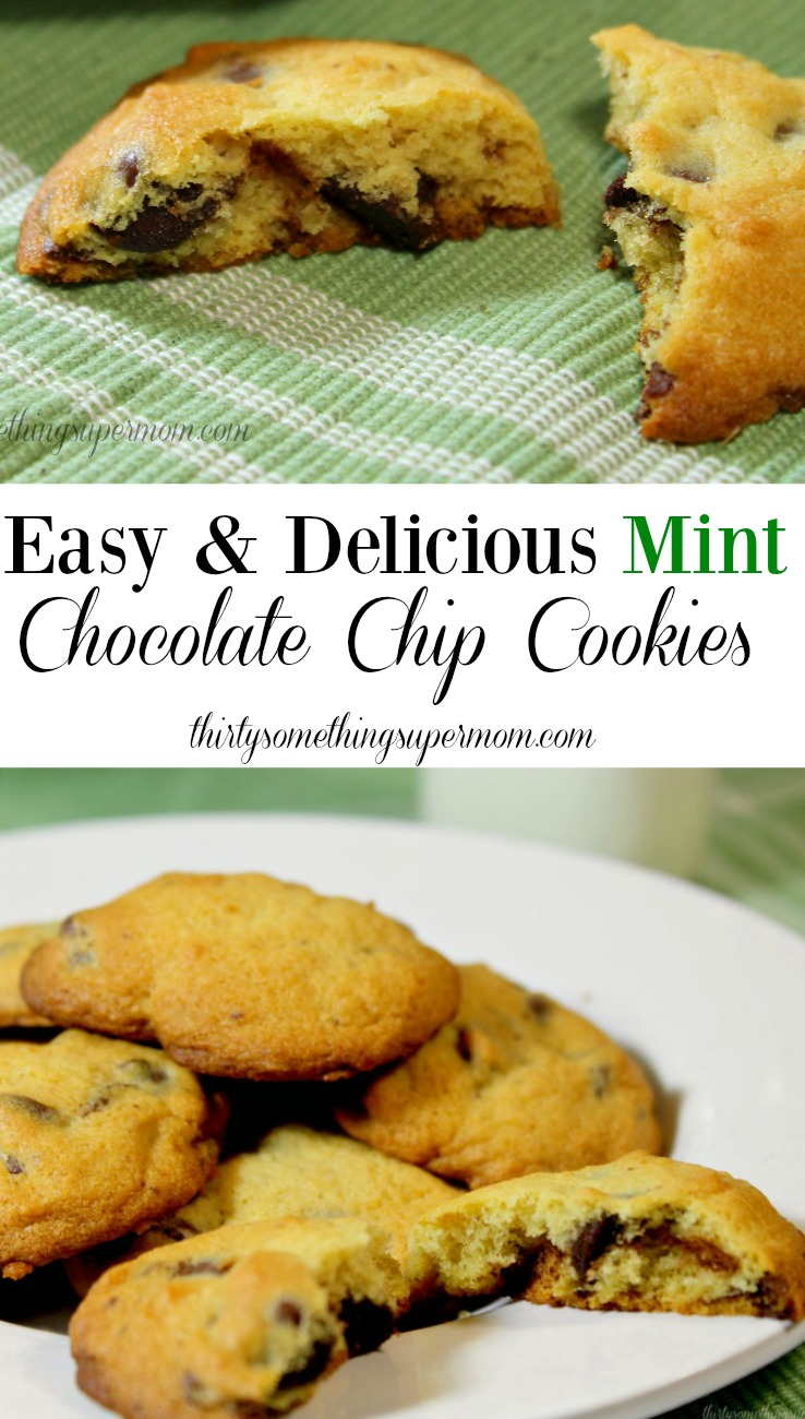 Easy and Delicious Mint Chocolate Chip Cookies Recipe