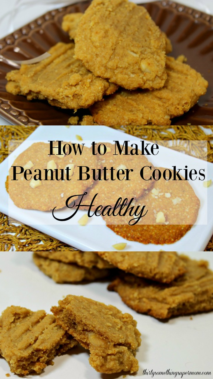 Now that I know how to make peanut butter cookies healthy and I can eat them anytime I want with no guilt!