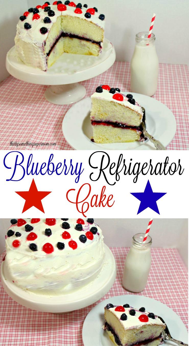 Blueberry Refrigerator Cake