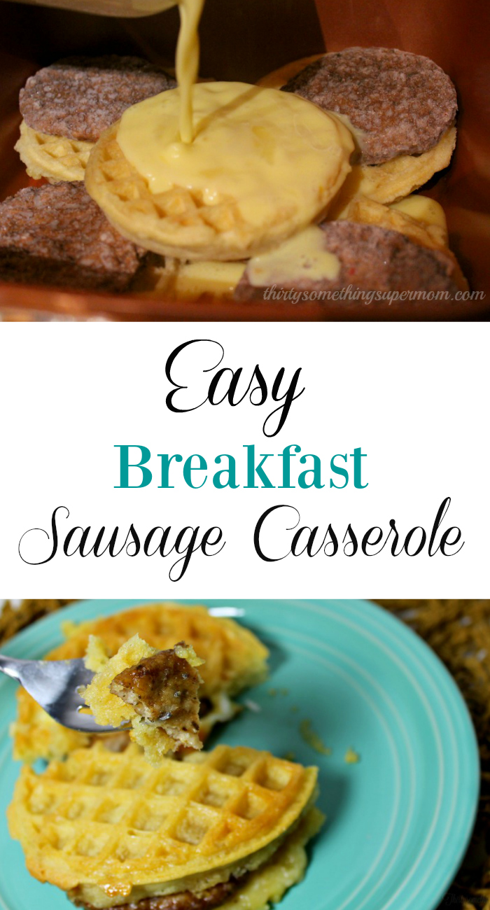 Easy Breakfast Sausage Casserole One Pot Meals