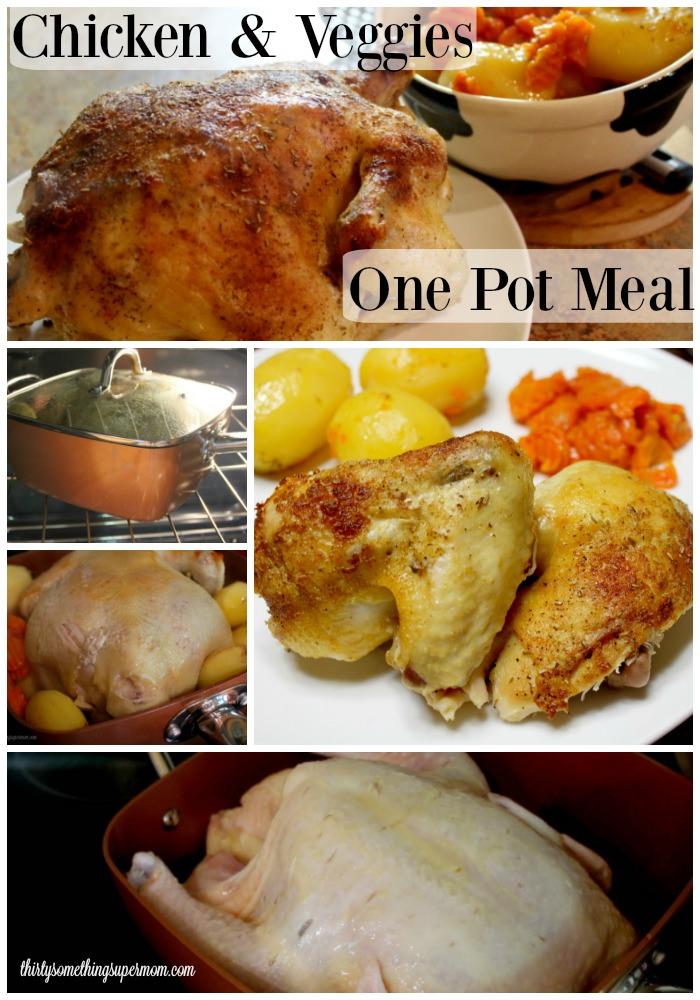 One Pot Meals Chicken & Veggies
